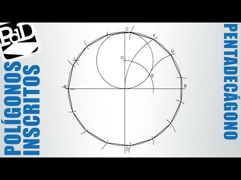 Pentágono Regular Inscrito En Una Circunferencia Polígonos Regulares Cicunscritos Youtube Polígono Regular Técnicas De Dibujo Circunferencia