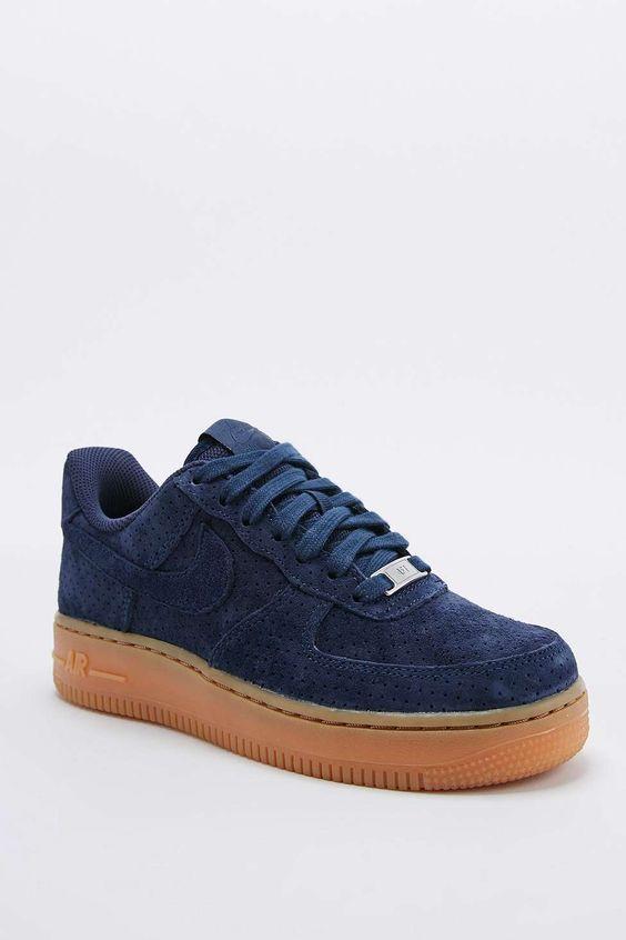 salopettes salomon - Nike - Baskets montantes Air Force 1 en daim bleu marine ...