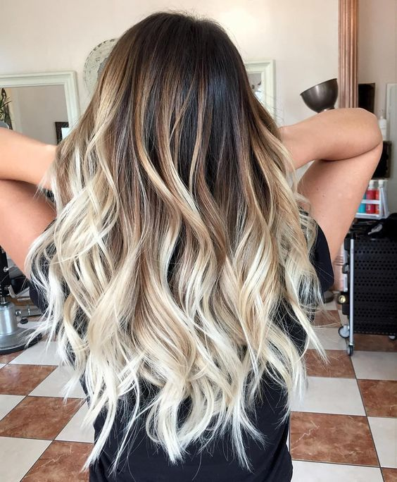 Hairstyles For Medium Length Hair For Work Ideas Hair Styles Brown Hair With Blonde Highlights Long Hair Styles