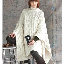 Caroling Cape Knitting Pattern : PONCHO {vogue knitting pattern} Knitting Night Pinterest Knitting patte...