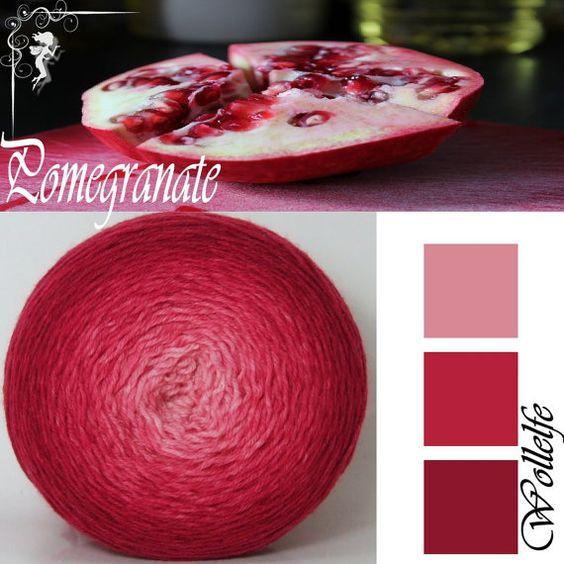 Gloria Dei* gradient yarn Merino Nylon fingering weight hand dyed