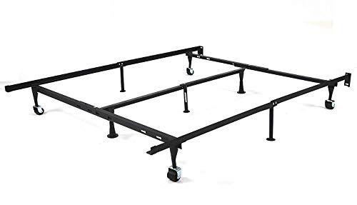 Gtu Furniture 9 Leg Adjustable Heavy Duty Steel Bed Frame Support