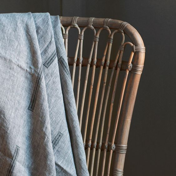 little peek at one of Susan Connor NY's new #linen #throws - launching in a week or so...