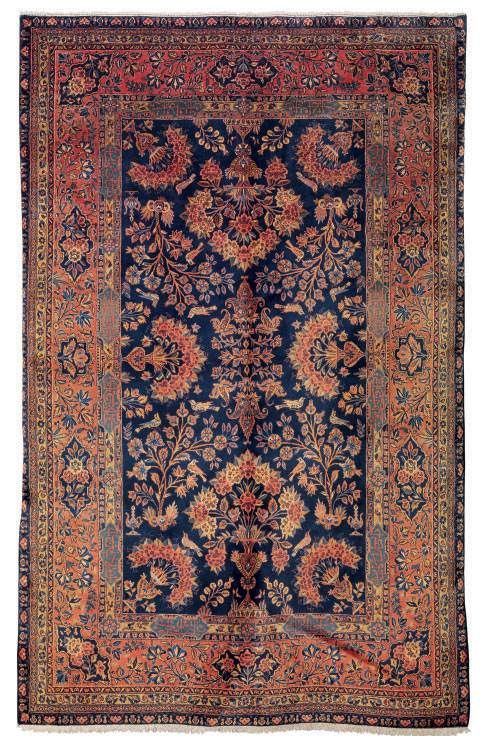 A Manchester Kashan Rug In 2020 Rugs
