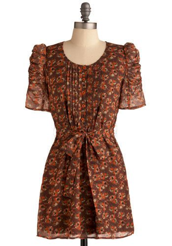 Autumnal Bouquet Dress, #ModCloth