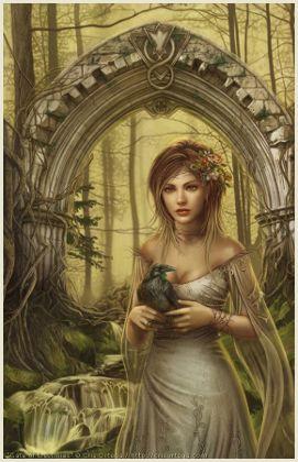 Cris Ortega. When I can afford custom cover art, I so want her.