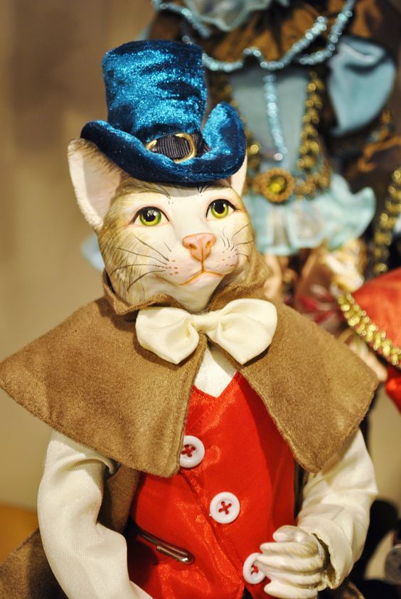 Pinocchio collection by Goodwill Belgium - Cat doll | A ... Goodwill Belgi��