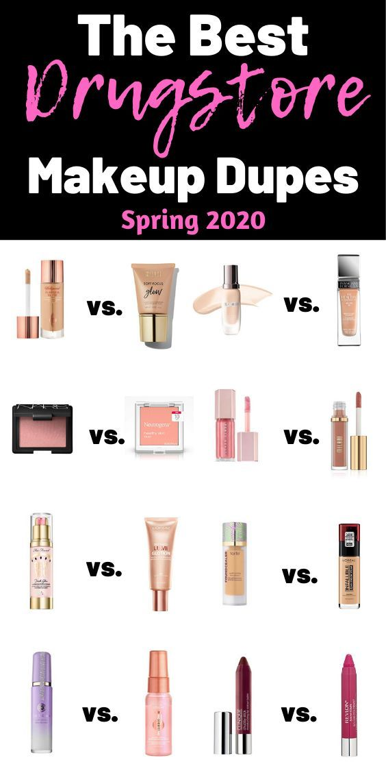 The Best Drugstore Dupes For High End Makeup Today It Begins In 2020 Drugstore Makeup Dupes Makeup Dupes Best Drugstore Dupes