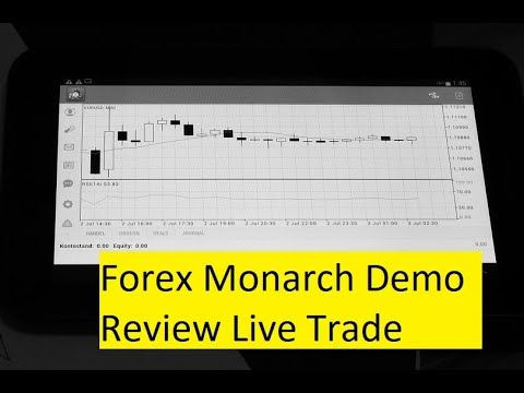 Forex Monarch Demo Review Live Trade