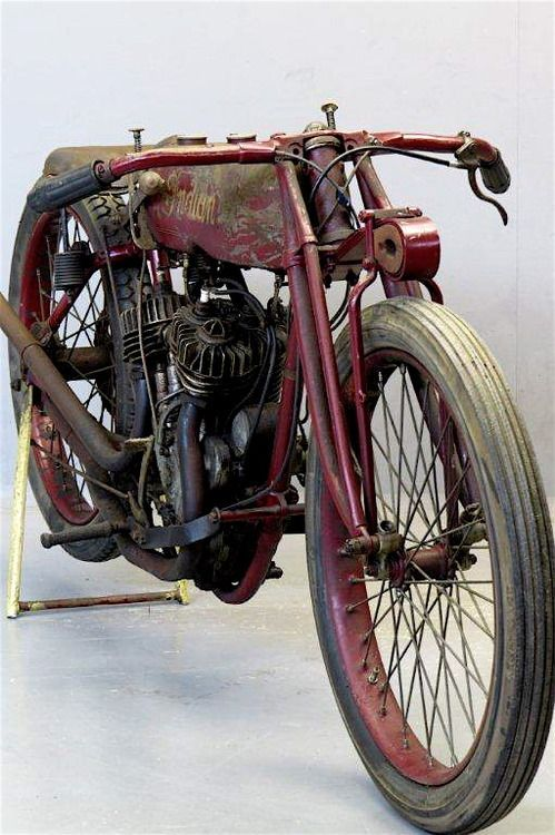 Old Indian motorcycle.