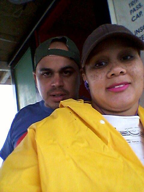 Pescando muito com meu marido amo muito tudo issoooooooo