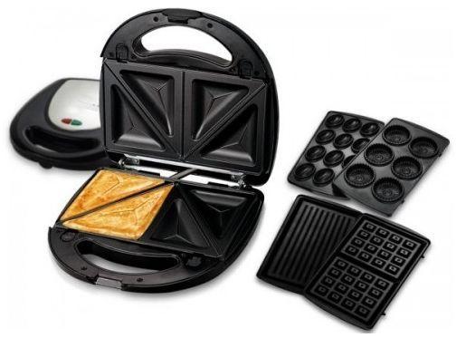 جهاز صنع البانيني والشواء من اوربت جيميناي Orbit Gemini Multi Snacks Maker البيت المطبخ الطبخ البانينى جهاز شواء Waffle Iron Kitchen Appliances Kitchen