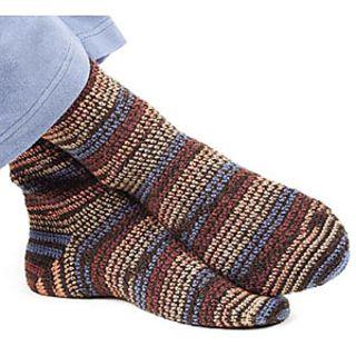 Mens crochet sock pattern free Crochet Pinterest ...