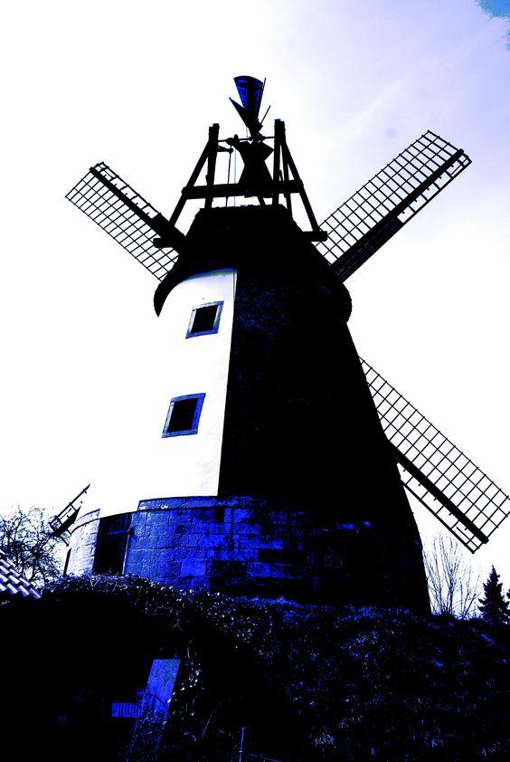 Windmühle Meißen, Wall-Holländer von 1869