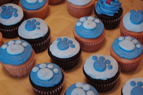 blue's clues cupcakes: