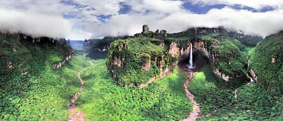 El Macizo Guayanés, Venezuela. La formación geológica más vieja del planeta.