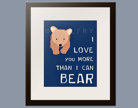 I love you more than I can bear...awwww!!