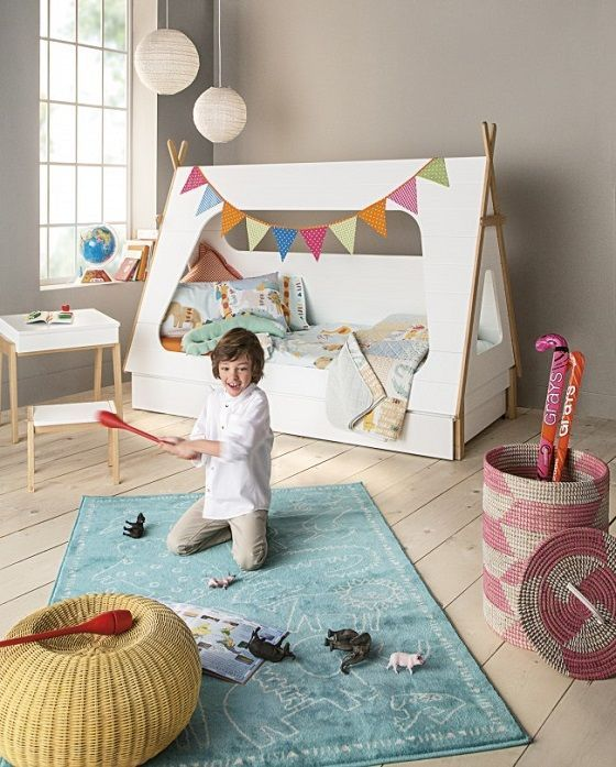 zelt bett evtl oben auf dem kura kidsroom pinterest. Black Bedroom Furniture Sets. Home Design Ideas