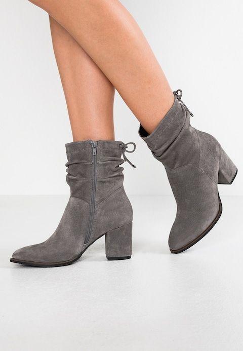 aspetto estetico più alla moda nuovo massimo Stivaletti - grey @ Zalando.it 🛒   Scarpe autunnali, Scarpe e Stivali