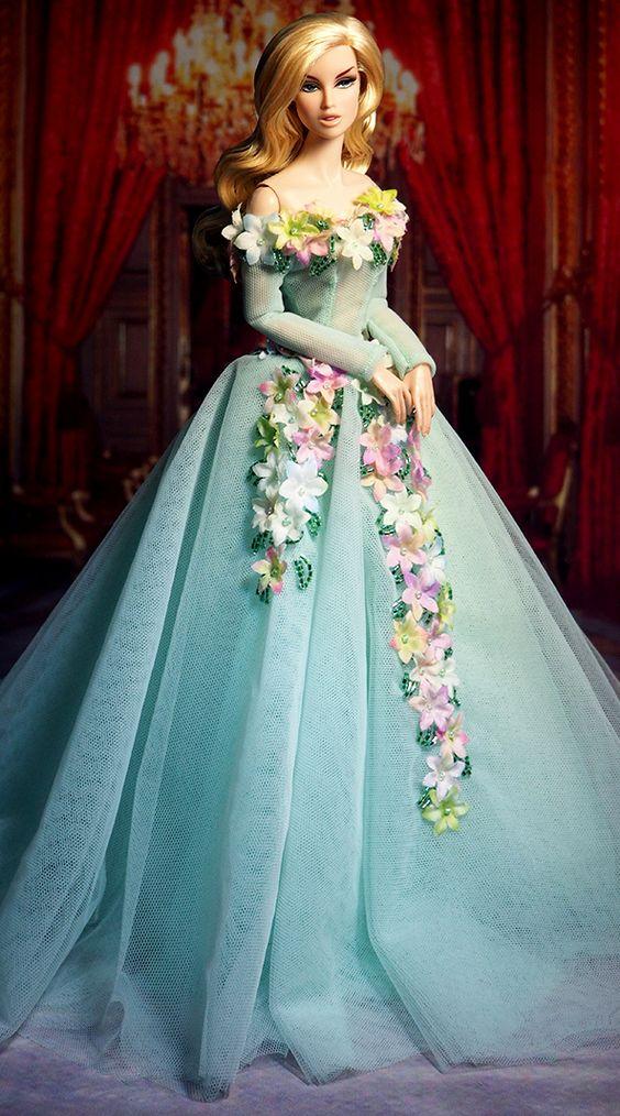 Floral deco dress: