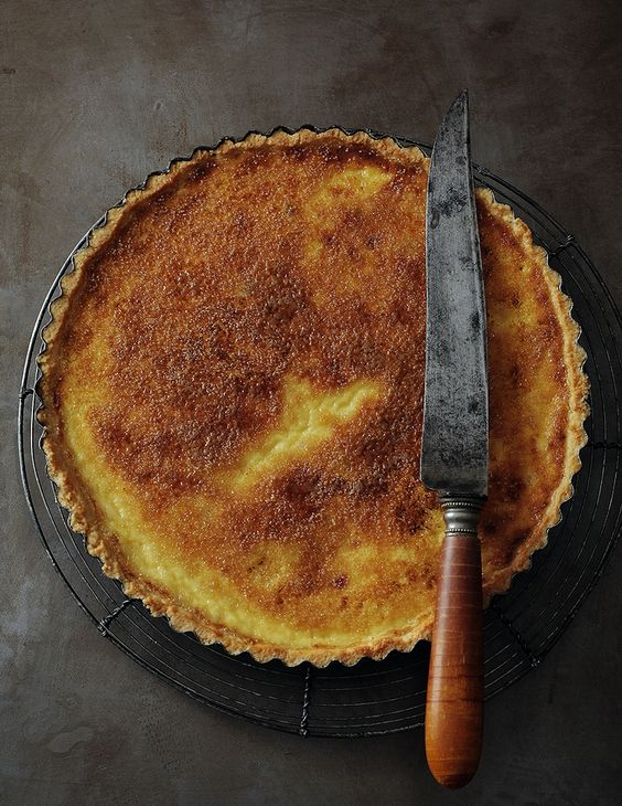 Crème Brûlée Tart | Dessert Bites: Custards and Mousse ...