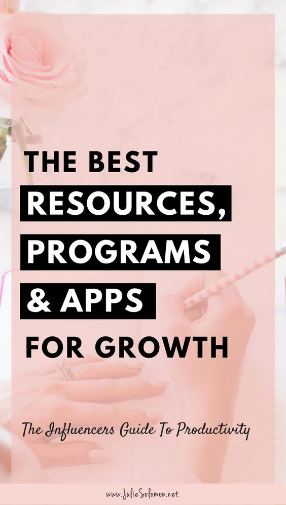 I use all sorts of apps to keep myself organized and to stay on task. If you're struggling to figure out which resources will help you most, don't worry, I've got you covered. Here are my absolute favorite productivity resources, programs, and apps, apart from which I would probably be useless. Julie Solomon, Blogging Expert