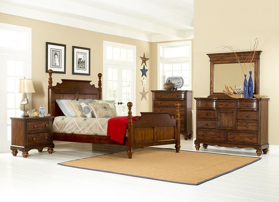 Hillsdale Furniture 1215BKRP5SET Pine Island 5 Piece Bedroom - King