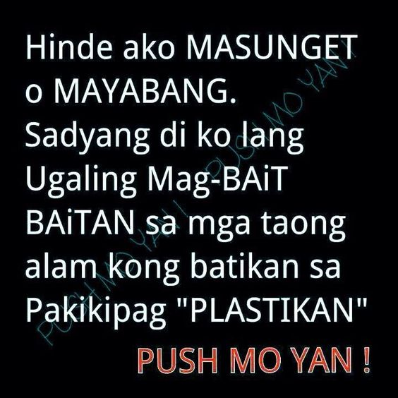 Tagalog quotes and Quotes on Pinterest Quotes About Drama Tagalog