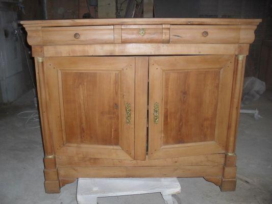 meuble bois brut