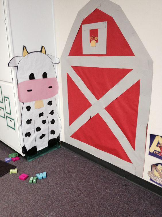 Preschool barn theme classroom