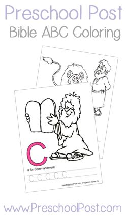 abc bible coloring pages - photo#5