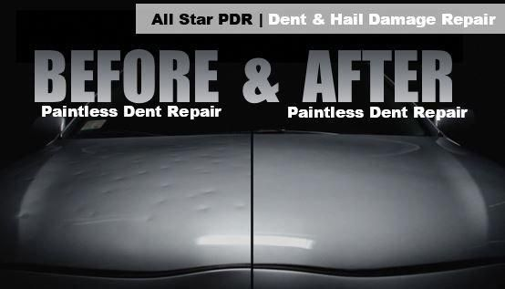Auto Dent Company S Paintless Dent Repair Handles Hail Damage To