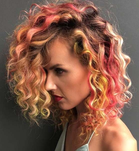 32++ Easy to maintain haircuts for curly hair ideas