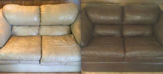 Sofa Leather Peeling Repair