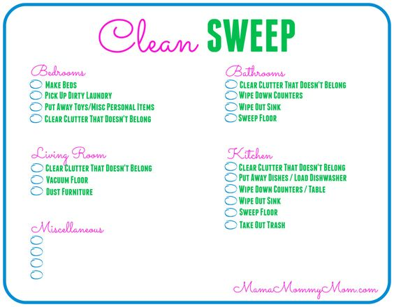Free Daily Cleaning Checklist Printable #SaveWithBubbles #Ad