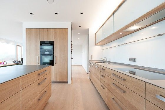 Tischlerei Sommer u2013 Küchen und Möbel aus Vollholz #Massivholz - moderne kuechen eiche hell holz