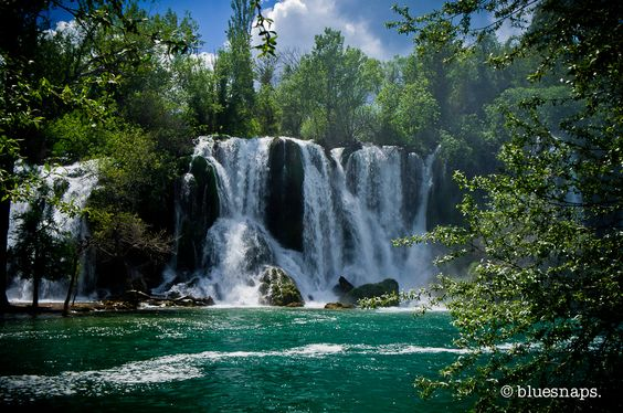 Kravice Falls, Bosnia and Herzegovina - Travel Photos - bluesnaps