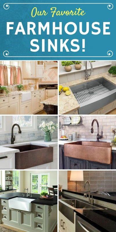 100 Best Farmhouse Sinks And Farm Sink Ideas For 2020 Sinks For