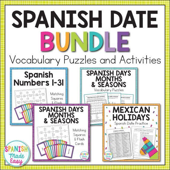 Dating vocabulary spanish