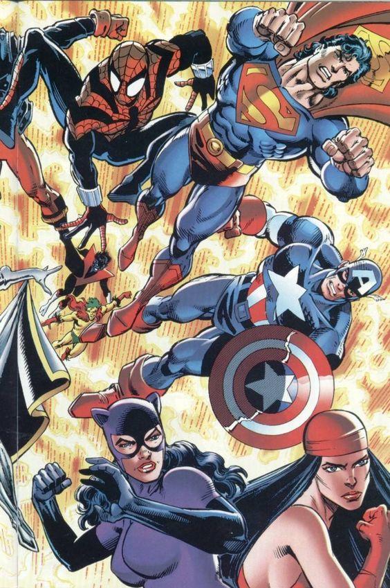 dc comics versus marvel comics images gif   dc vs marvel comics digitalizados 4 tomos!! mas 30 de regalo