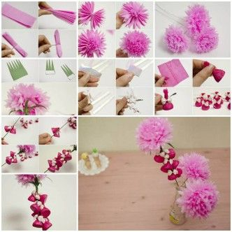 How to Make Beautiful Crepe Paper Flower and Chocolates thumb