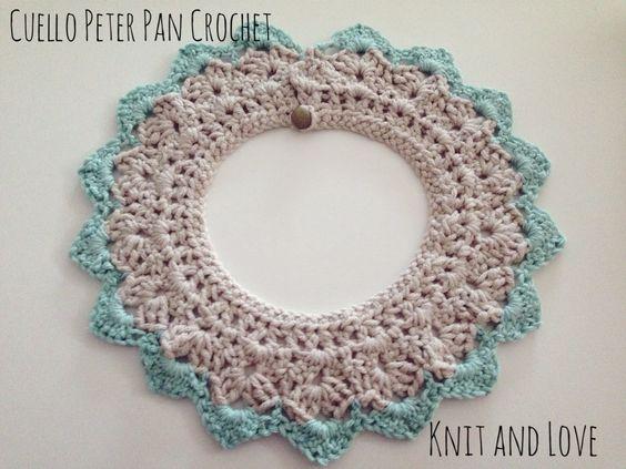 Free Crochet Peter Pan Collar Pattern. List of free crochet peter pan collar patterns, and other detachable collars alike.