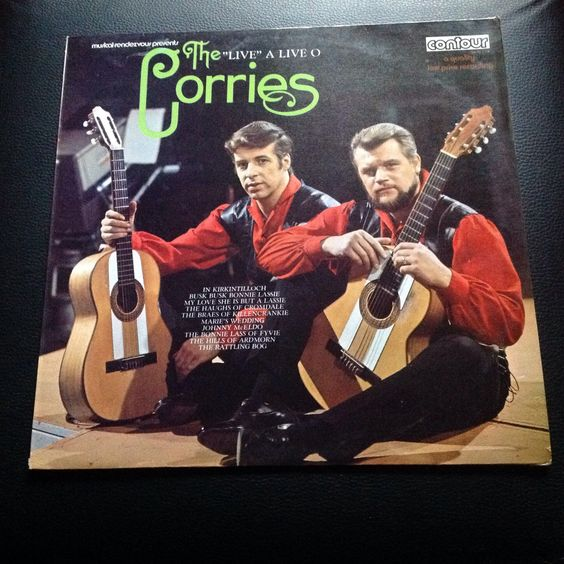 "The Corries - ""Live"" A Live O 1972 LP"