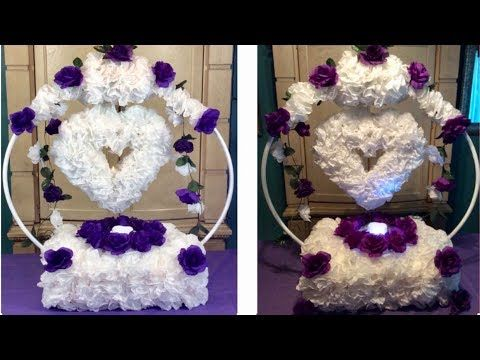 Dollar Tree Diy Inexpensive Coffee Filters Hula Hoop Centerpiece