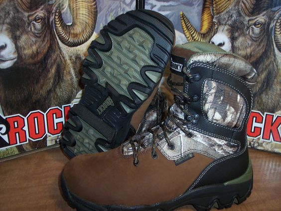 Hunting Footwear 153008: New 8 Rocky Bigfoot Hunting Boots ...