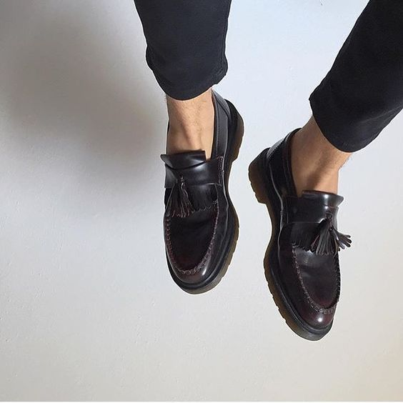 Docs Of The Day Shared By Edoardo Fabbri Drmartens Adrian Loafer In Black Drmartenstyle Loafers Men Loafers Men Outfit Loafers