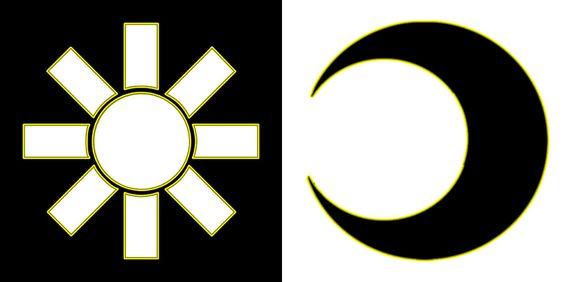 PNG Sun & Moon