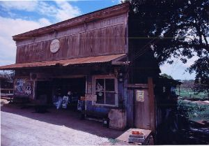 an old store in Haleiwa,Oafu.  (do not included in the book)  photo by Hideaki Sato.