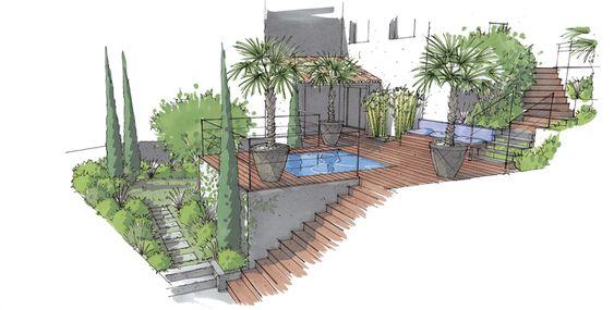 Rénovation et extension d\u0027une villa à Gassin #aet #renovation - Logiciel De Maison 3d