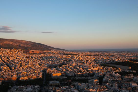 Falling in Love at First Sight with Athens -- from Farsickness